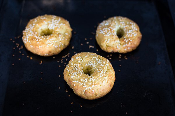 Кето завтрак: Булочки с беконом