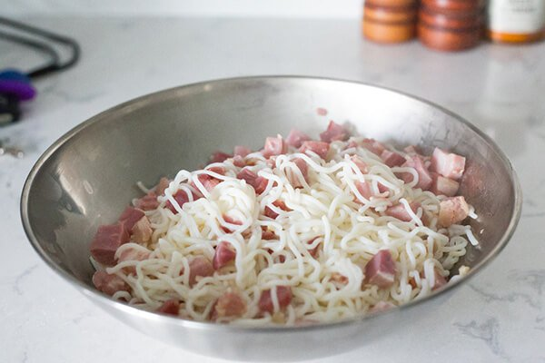 Кето-спагетти а-ля Карбонара