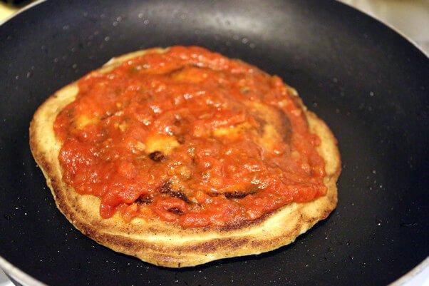 Кето-пицца за 5 минут