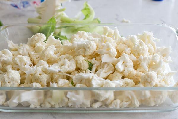 Запеканка из цветной капусты и сыра