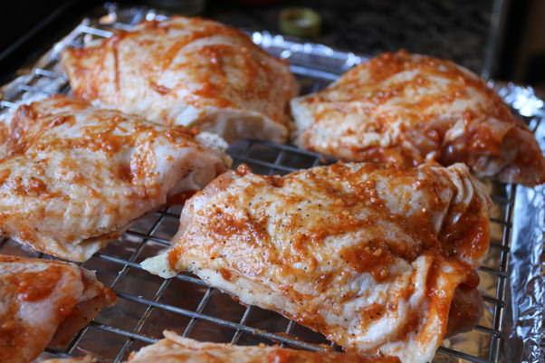 Куриные бедра по-азиатски