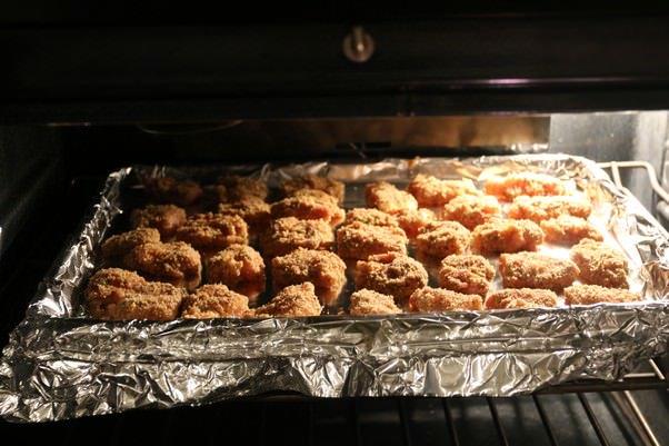 Низкоуглеводные куриные наггетсы