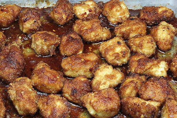 Куриные грудки в кето-соусе