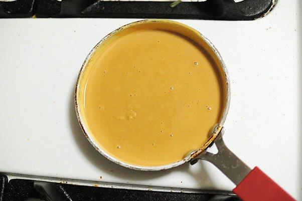 Шоколадные пирожные с арахисовым маслом