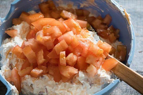 Сливочно-сырная запеканка с беконом