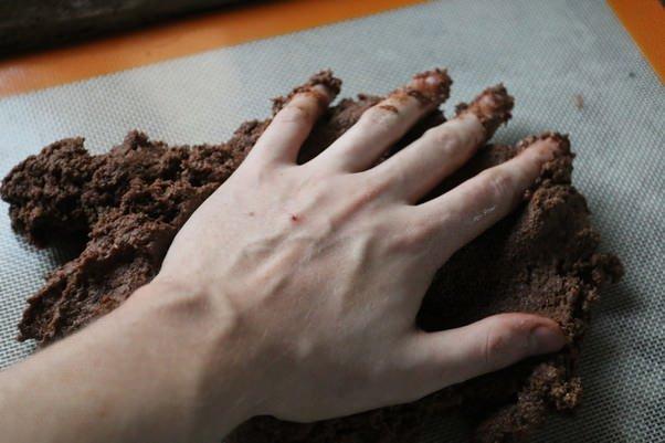 Шоколадно-сливочный бисквит