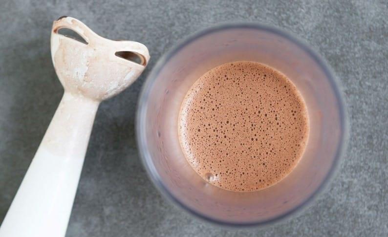 Горячий кето-шоколад