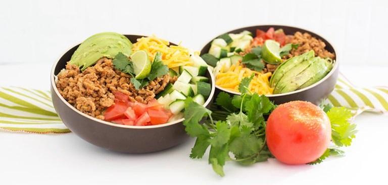 Кето-салат Тако
