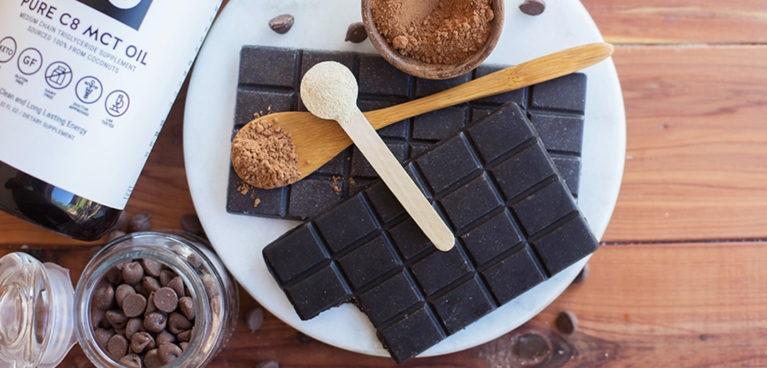 Домашний кето-шоколад
