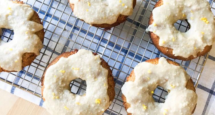 Низкоуглеводные лимонные пончики
