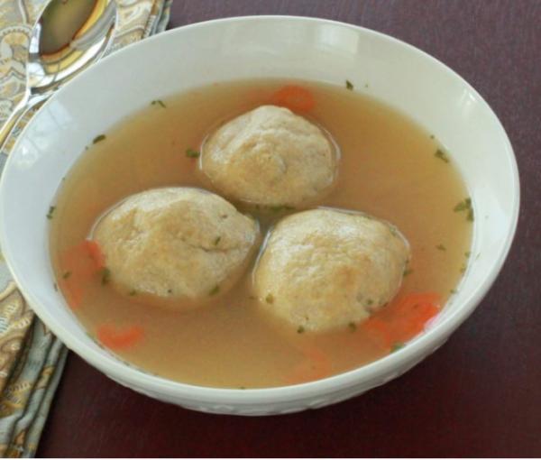 Кето-суп с клёцками