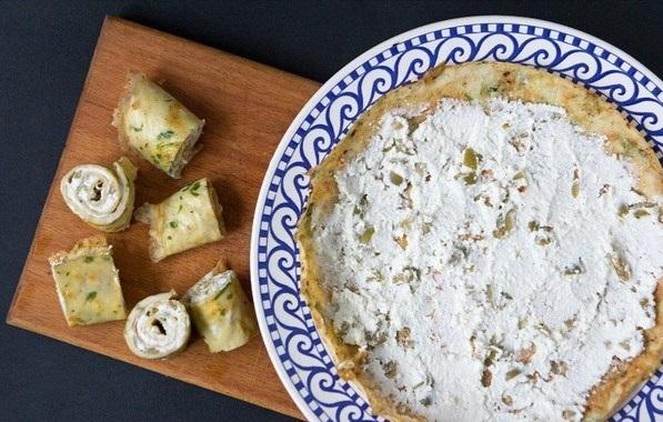 Яичные роллы с сыром