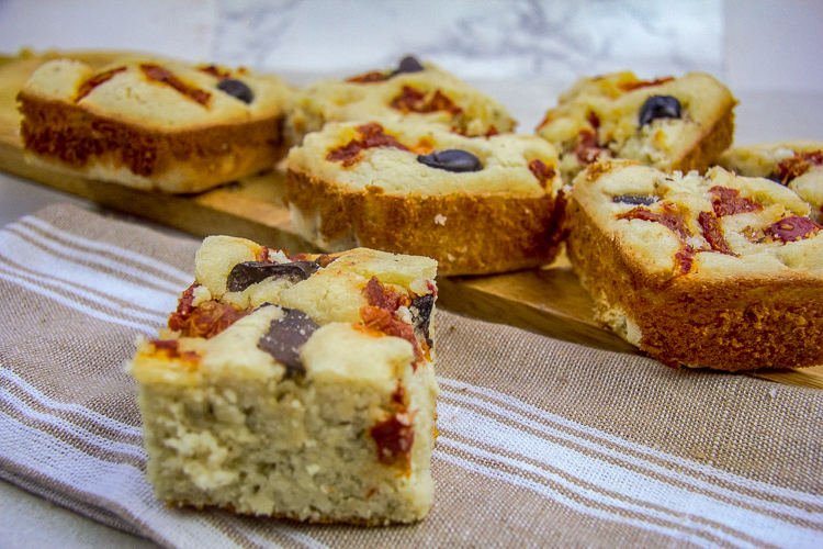 Низкоуглеводный хлеб Фокачча