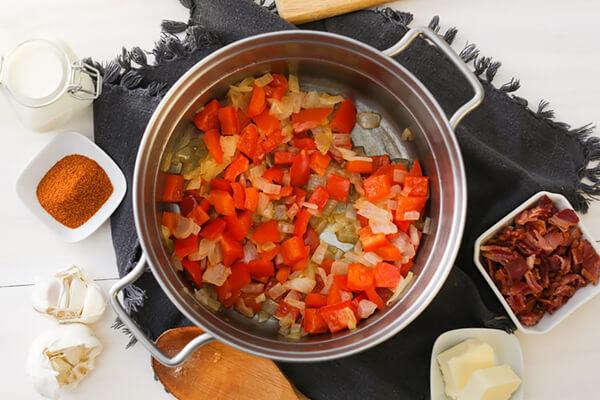 Низкоуглеводный сырный суп с пивом