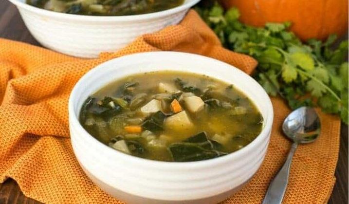 Низкоуглеводный овощной суп