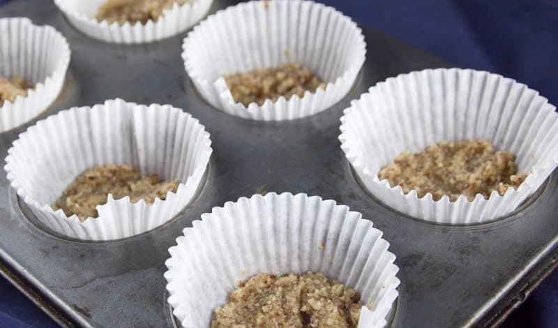 Клубничные кексы с йогуртом (без выпечки)