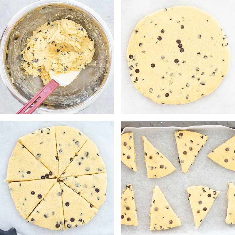 Низкоуглеводные булочки с шоколадом