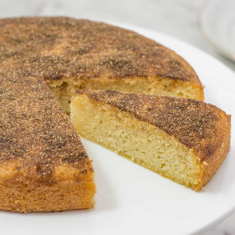 Пирог с корицей к чаю