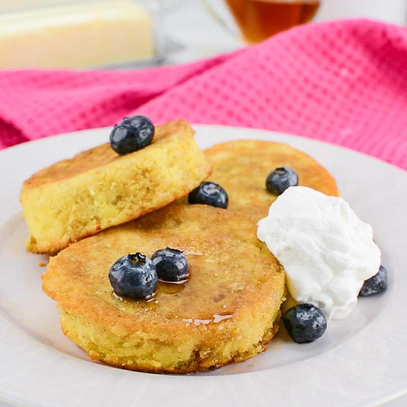 Французский кето-тост на завтрак