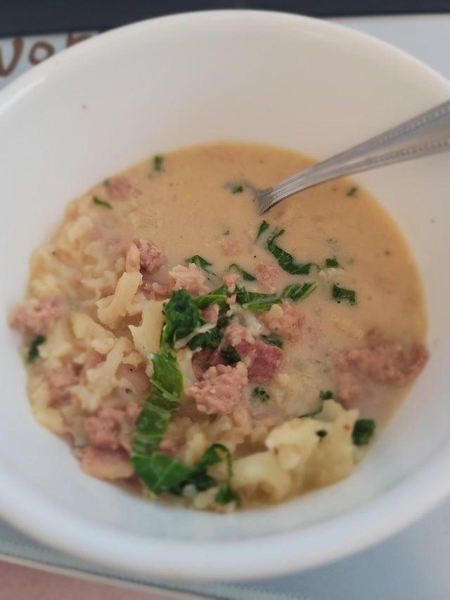 Итальянский суп Тоскана
