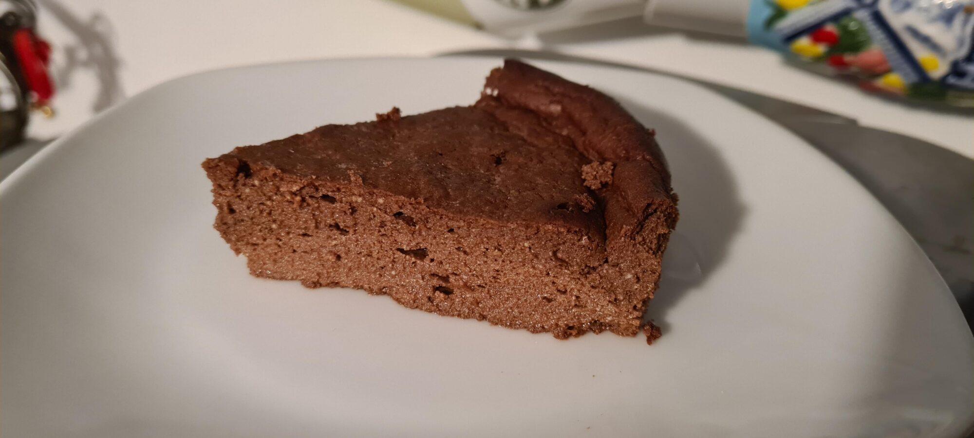 Шоколадный кето-чизкейк