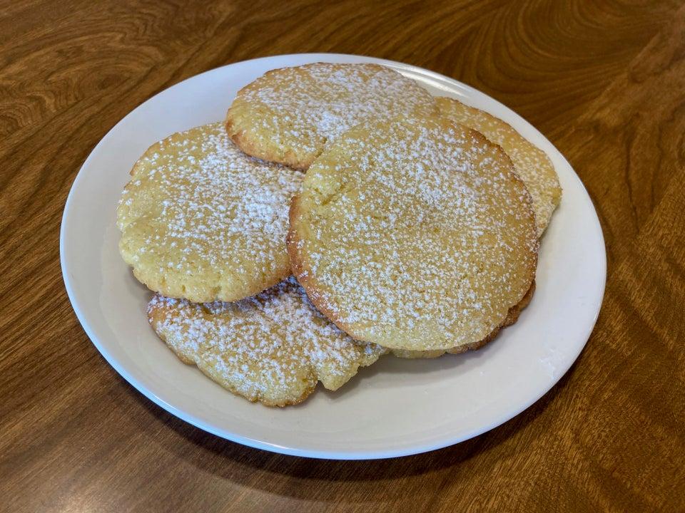 Лимонное кето-печенье