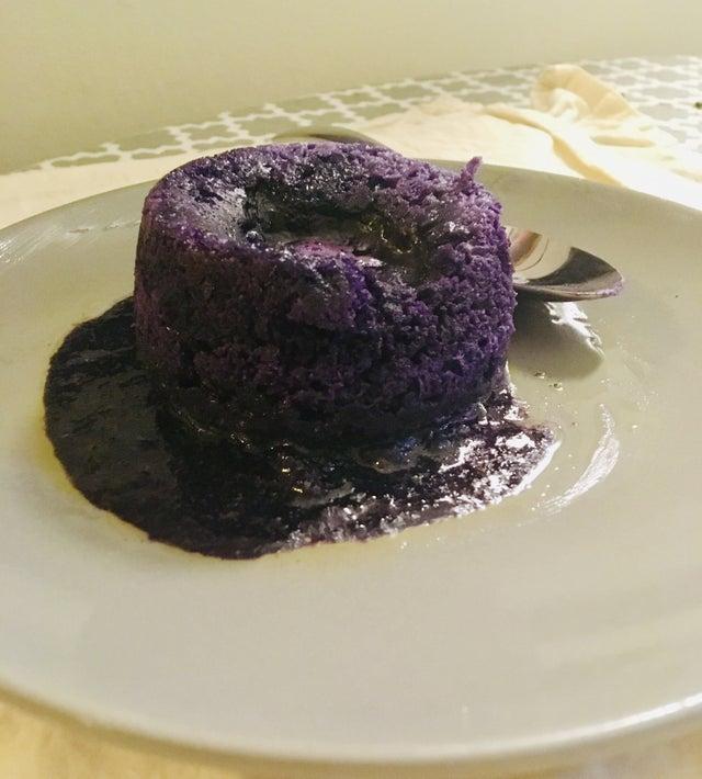 Кето-пирожное Шоколадная лава